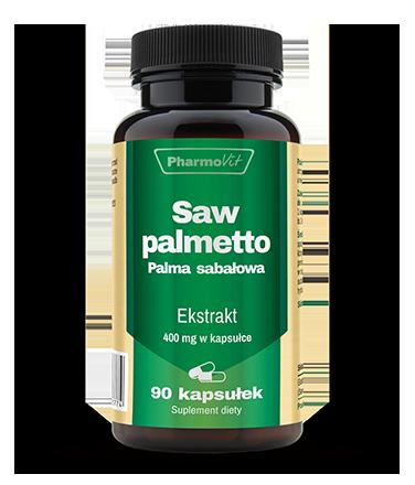 Saw palmetto Palma sabałowa 90 kaps. (1)