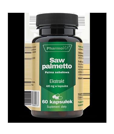 Saw palmetto Palma sabałowa 60 kaps. (1)