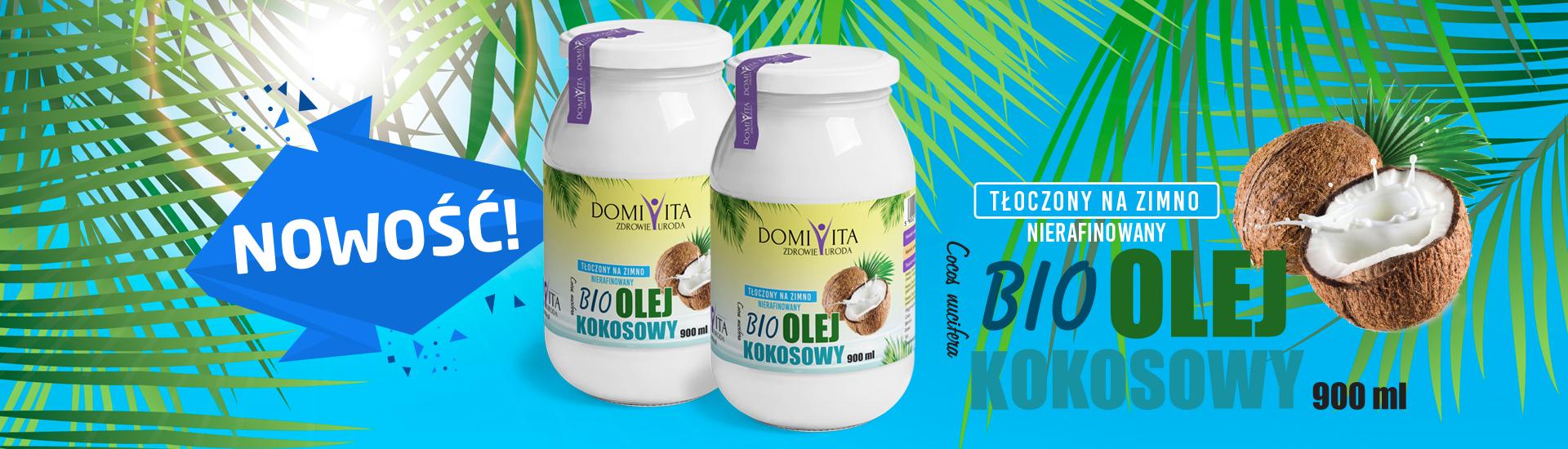 Bio Olej Kokosowy 900ml